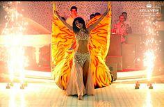 Renka!! Fire dance wings!