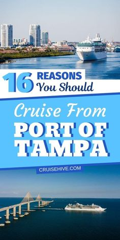 Here is are reasons why you should take a cruise vacation from the Port of Tampa. With things to do nearby and and all the goodness the experience offers. Bahamas Vacation, Bahamas Cruise, Cruise Port, Cruise Travel, Caribbean Cruise, Cruise Vacation, Italy Vacation, Vacations, Best Cruise