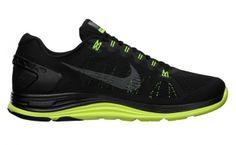 Nike LunarGlide+ 5 Black/Volt
