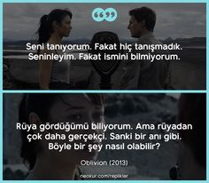 Oblivion, Film Quotes, Book Quotes, Comedy Zone, Something Just Like This, Personality Quotes, Film Movie, Movies, My Philosophy