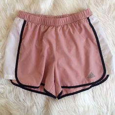 MAUVE SHORTS Very similar fit to the nike shorts. Has a few tiny marks   **bundles save 10%** no trades/no modeling/no asking for lowest Adidas Shorts