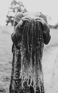 Long Dreads! Soft tips. Dreadlock Beads.