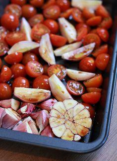 Culy Homemade: easy peasy geroosterde tomatensaus (voor over de pasta)