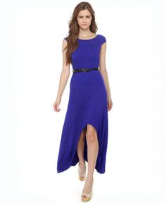 Something You Royal Blue Maxi Dress