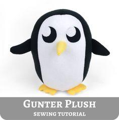 Gunter Plushy! so cute! must sew...!
