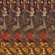 3D piracy. #stereogram #hidden3d #stereoscopic #illusion #thirdeye #autosteogram