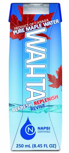 Maple Water Takes On Coconut Water