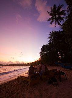 Beach, Unawatuna, Sri Lanka