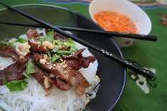 Meal Planning 101: Charbroiled Pork Vermicelli (Bun Thit Nuong)