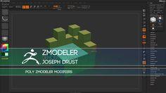 Vimeo ZClassroom - ZBrush ZModeler Tutorials