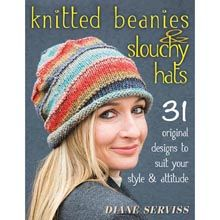 Knitted Beanies & Slouchy Hats Book/Booklet - Willow Yarns