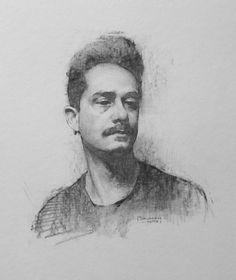 Stephen Bauman Drawings:: Post no.14* Portrait of Alex