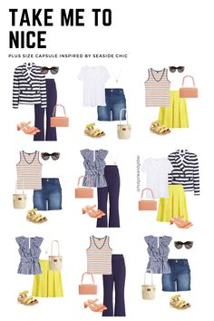 Inspired by packing for the south of france! this plus size summer packing list is a perfect capsule wardrobe #plussize Plus Size Capsule Wardrobe, Fall Capsule Wardrobe, Plus Size Summer Outfit, Summer Outfits, Plus Size Fall Fashion, Plus Size Looks, European Summer, Europe Fashion, Cabinet