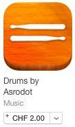 Dubstep-Drums oder Cachon spielen auf dem Holzbrett by Stefan Gisler | posted in: 0. Instrumente, 0g. iPad und co., 9. Das Tablet als Musikinstrument, 9c. Drumcomputer, Apple (iOS), Apps, Schlagzeug, tAPP | 0