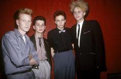 Los primeros shows de Depeche Mode, Smiths y The Beatles en ilustraciones