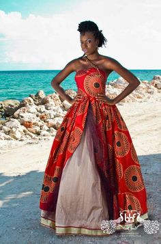 Latest latest african fashion look African Wedding Dress, African Print Dresses, African Wear, African Attire, African Women, African Dress, African Style, African Prints, African Clothes