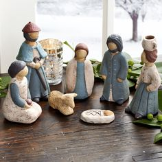 Newsletter for pottery hand builders, clay makers, potters, and ceramics students Christmas Nativity Scene, Merry Christmas To All, Nativity Scenes, Christmas Ornaments, Christmas Decorations, Christmas Figurines, Felt Ornaments, Polymer Clay Figures, O Holy Night