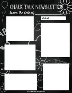 Newsletter Template  Free So AdorableMy Kids Love To Print