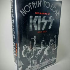 KISS Nothing To Lose - The Making of KISS 1972 - 1975  This book is ready to become your authentic piece of #KISS history, or to be turned into your perfect Hollow book.  Get it now or learn more at www.DIYMike.Etsy.Com