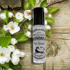 PEAR BLOSSOM Perfume Oil  Pear Mimosa by BlackCatCreatives on Etsy