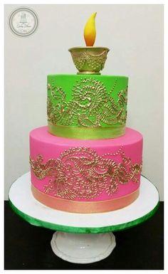 Henna / mehendi cake