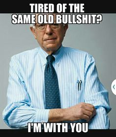 I'm voting for Bernie Sanders. He's exactly what this country needs! Smart, common sense support of the middle class.