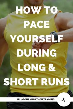 A list of great running tips that will help you pace yourself for long and short runs and help you to avoid the #1 most common pacing mistake that most runners make! #allaboutmarathontraining #pace #runningtips