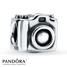 Camera Charm Sterling Silver