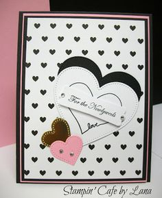 Stampin' Cafe by Lana: Stampin Friends February Blog Hop - Black, White & Whatever You Like
