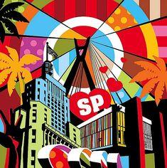 Awesome Pop Art by Lobo | Abduzeedo Design Inspiration