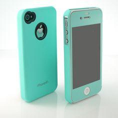 Premium Mint Matte Screen + Mint Ultra Thin Hard case cover for iphone 4 4S 4G | eBay