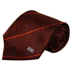 6a92d6669e6 Cleveland Browns Maroon Oxford Woven Tie Nfl Cleveland Browns