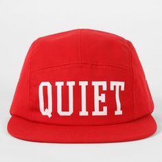 The Quiet Life Big Text 5 Panel Cap, Red 5 Panel Cap, Baseball Hats, Big, Baseball Caps, Caps Hats, Baseball Cap, Snapback Hats