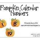 Motherload of Calendar Number Printables for each month! LOVE!