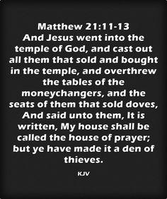 Image result for den of thieves kjv scripture