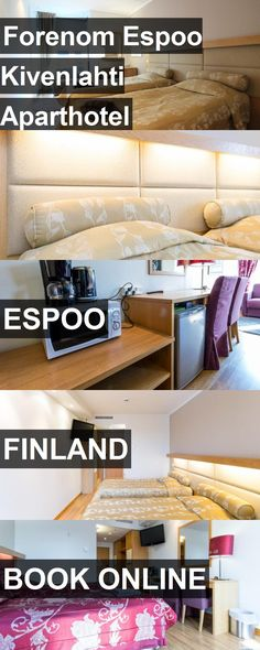 Hotel Forenom Espoo Kivenlahti Aparthotel in Espoo, Finland. For more information, photos, reviews and best prices please follow the link. #Finland #Espoo #ForenomEspooKivenlahtiAparthotel #hotel #travel #vacation