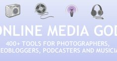 400+ Tools for Photographers, Videobloggers, Podcasters & Musicians