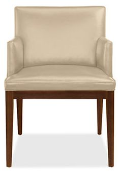 Ansel Chairs in Leather - Chairs - Dining - Room & Board