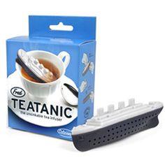 Teatanic Boat Tea Infuser Titanic Loose Leaf Leaves Steeper Silicone Strainer | eBay
