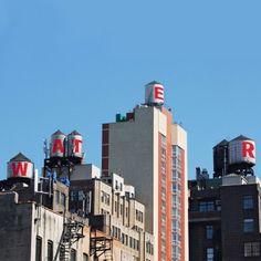 The Water Tank Project - Artists transform NYC's rooftop water towers to raise awareness about conservation