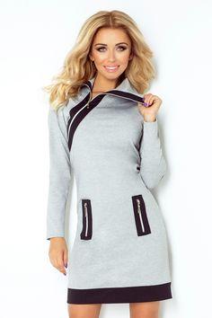 Sukienka Numoco Grey