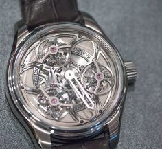 The incredible Antoine Preziuso Tourbillon of Tourbillons Chronometer.