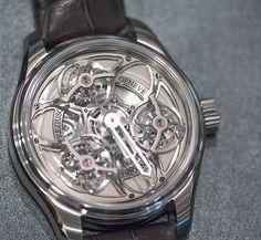 The incredible Antoine Preziuso Tourbillon of Tourbillons Chronometer.