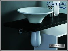 Lavoar rotund pe blat Formosa Olympia, Washbasin Design, Fire Clay, Autocad, Countertops, Branding Design, Sink, Products, Bathroom Sinks
