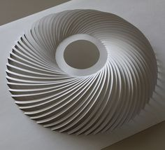 Architectural paper sculpture by Prof. Yoshinobu Miyamoto