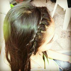 Trenza cintillo #trenza #hairstyle #peinados