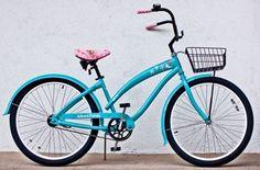 "Paul Frank bike *tiffany color* I want! - I miss my old ""yellow PF bike."""