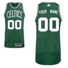 12f00ddc4 Adidas Boston Celtics Custom Authentic Road Jersey Sport Fashion