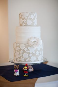 Wedding Cake: Amy Beck Cake Design