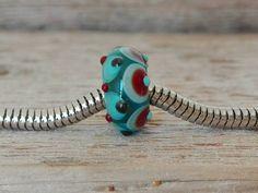 Guarda questo articolo nel mio negozio Etsy https://www.etsy.com/listing/472811462/lampwork-handmade-big-hole-charm-bead